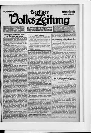 Berliner Volkszeitung vom 10.03.1914