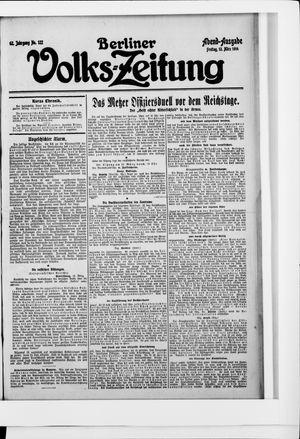 Berliner Volkszeitung vom 13.03.1914