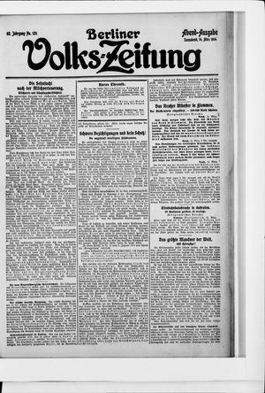 Berliner Volkszeitung vom 14.03.1914