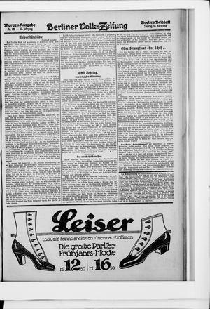 Berliner Volkszeitung vom 15.03.1914