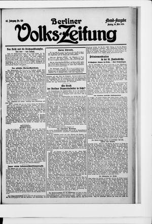 Berliner Volkszeitung vom 16.03.1914
