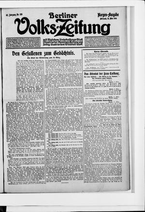 Berliner Volkszeitung vom 18.03.1914