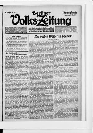 Berliner Volkszeitung vom 19.03.1914