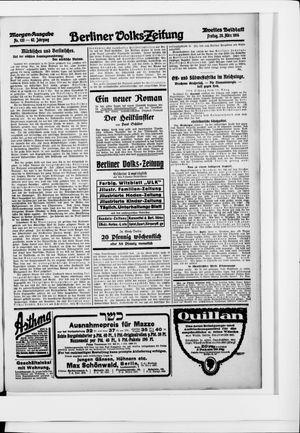 Berliner Volkszeitung vom 20.03.1914