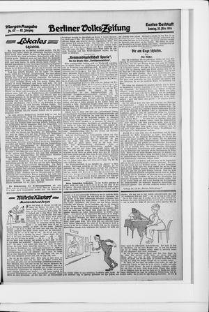 Berliner Volkszeitung vom 22.03.1914
