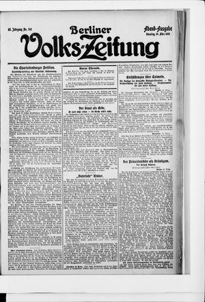 Berliner Volkszeitung vom 24.03.1914