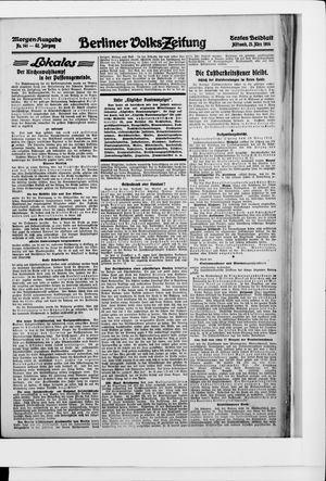 Berliner Volkszeitung vom 25.03.1914