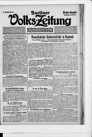 Berliner Volkszeitung vom 26.03.1914