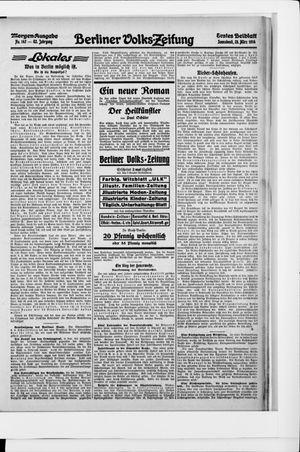 Berliner Volkszeitung vom 28.03.1914