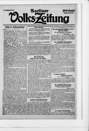 Berliner Volkszeitung vom 31.03.1914