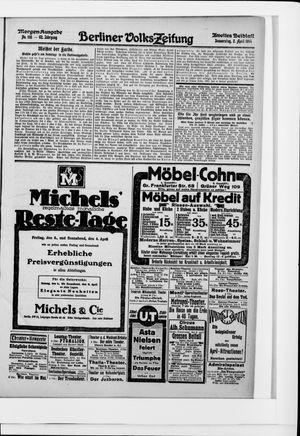 Berliner Volkszeitung vom 02.04.1914