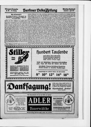 Berliner Volkszeitung vom 04.04.1914