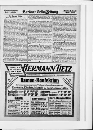 Berliner Volkszeitung vom 05.04.1914