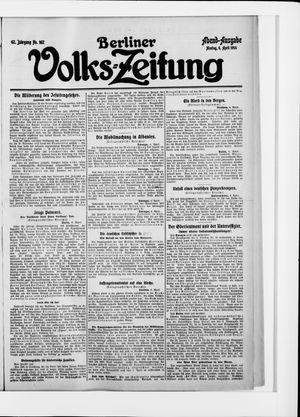 Berliner Volkszeitung vom 06.04.1914