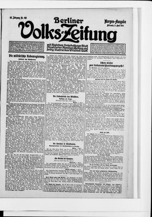 Berliner Volkszeitung vom 08.04.1914