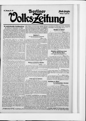 Berliner Volkszeitung vom 14.04.1914