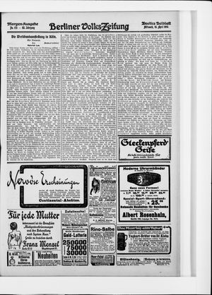 Berliner Volkszeitung vom 15.04.1914