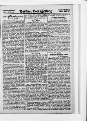 Berliner Volkszeitung vom 16.04.1914