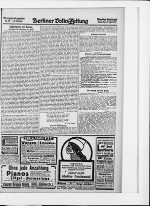 Berliner Volkszeitung vom 23.04.1914