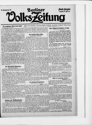 Berliner Volkszeitung vom 25.04.1914