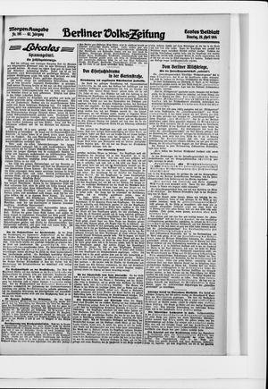 Berliner Volkszeitung vom 28.04.1914
