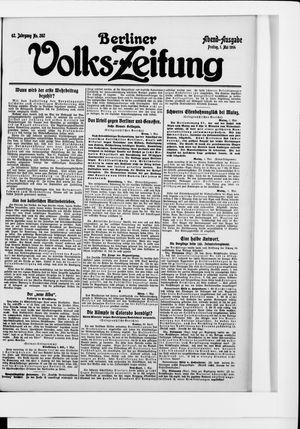 Berliner Volkszeitung vom 01.05.1914