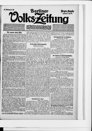 Berliner Volkszeitung vom 02.05.1914