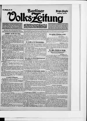 Berliner Volkszeitung vom 07.05.1914