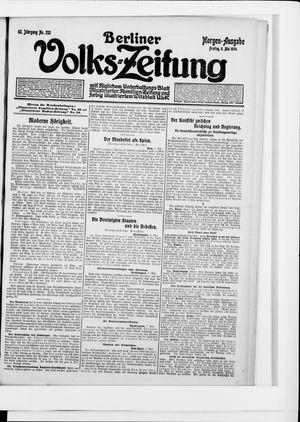 Berliner Volkszeitung vom 08.05.1914