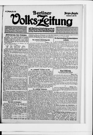 Berliner Volkszeitung vom 09.05.1914