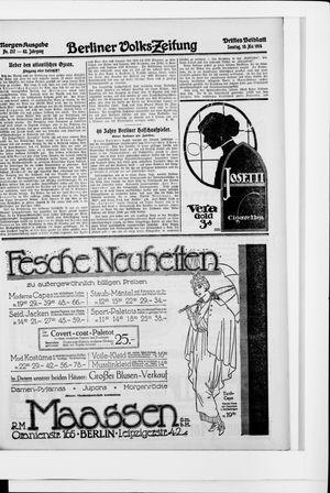 Berliner Volkszeitung vom 10.05.1914