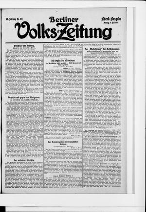 Berliner Volkszeitung vom 11.05.1914