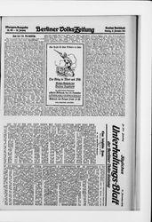Berliner Volkszeitung (17.11.1914)