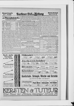 Berliner Volkszeitung vom 10.01.1915