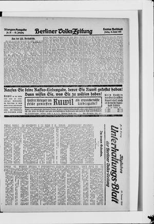 Berliner Volkszeitung vom 15.01.1915