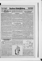 Berliner Volkszeitung (17.01.1915)