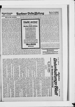 Berliner Volkszeitung vom 20.01.1915