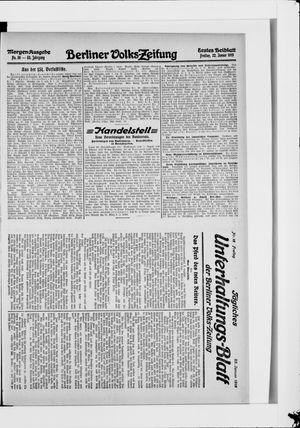 Berliner Volkszeitung vom 22.01.1915