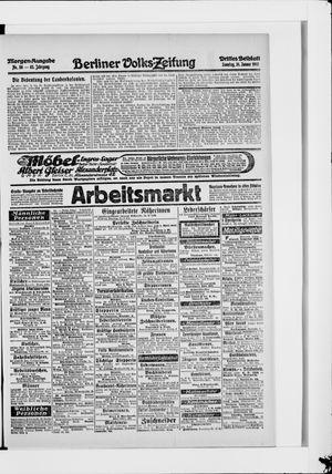 Berliner Volkszeitung vom 31.01.1915