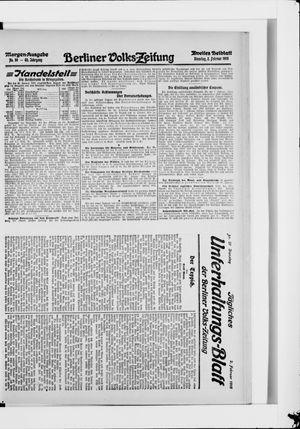 Berliner Volkszeitung vom 02.02.1915