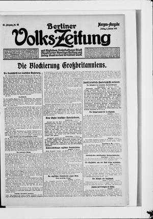 Berliner Volkszeitung vom 05.02.1915