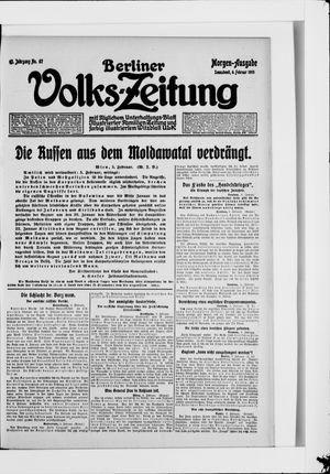 Berliner Volkszeitung vom 06.02.1915