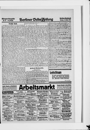 Berliner Volkszeitung on Feb 14, 1915