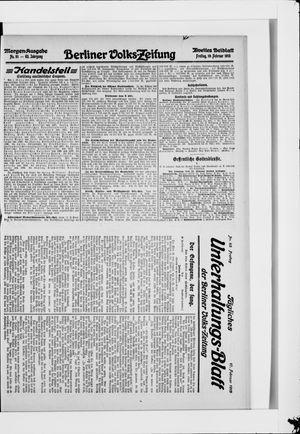 Berliner Volkszeitung vom 19.02.1915