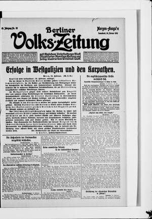 Berliner Volkszeitung vom 20.02.1915
