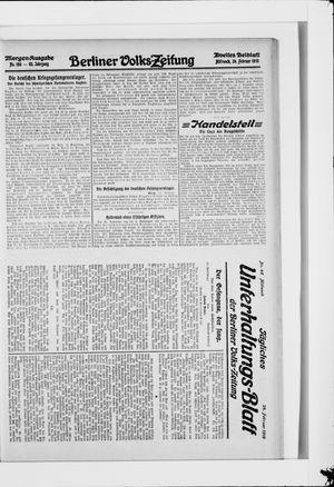 Berliner Volkszeitung vom 24.02.1915