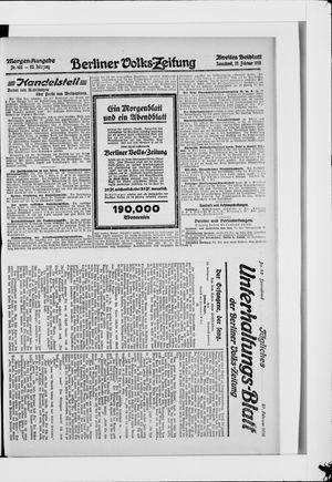 Berliner Volkszeitung vom 27.02.1915