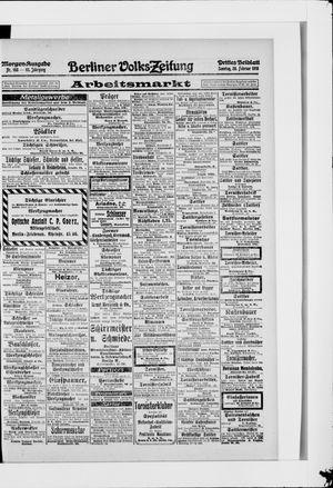 Berliner Volkszeitung vom 28.02.1915