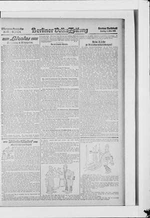 Berliner Volkszeitung vom 07.03.1915