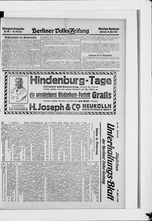 Berliner Volkszeitung vom 10.03.1915